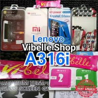 Tempered Glass LENOVO A316i Screen Guard Anti Gores Kaca A316i