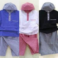 Pakaian Bayi Laki-Laki Baju & Sepatu Koko Muslim Setelan Anak AHB0495