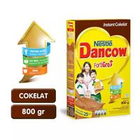 Harga susu dancow fortigro rasa coklat 800gr | Hargalu.com