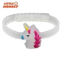 10Pcs Gelang Unicorn dengan Lampu Malam untuk Aksesoris Pesta