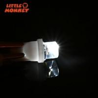 10Pcs Lampu Wedge Mobil Putih 12V LED 194 168 158 W5W 501