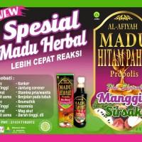Madu Hitam Pahit Propolis plus ekstrak Manggis Sirsak