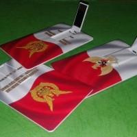 usb polos-flashdisk kartu custom logo-grosir flashdisk kartu-polos