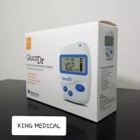 Jual GlucoDr Biosensor Alat Cek Gula Darah + Strip isi 25 Gluco Dr Murah