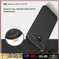 Case Samsung Galaxy J2 Pro 2018 Case Fiber New Edition Casing Hp Slim