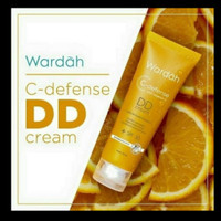 Foundation bagus Wardah C-Deffense DD Cream SPF 30 - Light