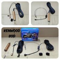 Harga mic kenwood 80d clip on headset | antitipu.com