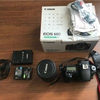 Kamera DSLR Canon EOS 60D 18-200 Kit + Lowepro Adventura 160