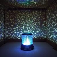 Jual Lampu Tidur Unik LED Proyektor Star Master Cahaya BINTANG-BINTANG Murah