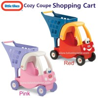 Jual Little Tikes Cozy Coupe Shopping Cart mainan keranjang belanja dorong Murah