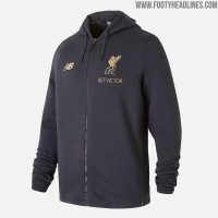 Jaket Hoodie Halfzipper Sweater Liverpool Training LFC The Kop 18/19