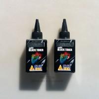 Super Black Toner tinta printer serbuk Alfaink original for HP 70gr