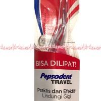 Pepsodent Travel Sikat Gigi Bisa Dilipat Praktis Dan Efektif