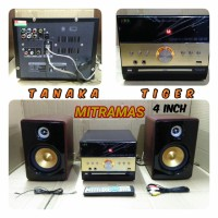 Speaker aktif Tanaka Amplifier Media DVD