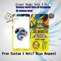 Garskin HP Xiaomi Redmi NOTE 5 PRO Motif vR LOgo - motif bisa request