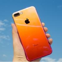 Iphone 6 / 6s AURORA GRADIENT TRANSPARAN CASE - case iphone 6 / 6s