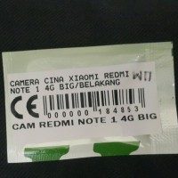BACK CAMERA KAMERA BELAKANG XIAOMI REDMI NOTE 4G LTE ORIGINAL Bagus
