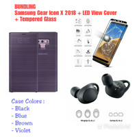 Samsung Galaxy Note 9 LED View Cover + Samsung Gear Icon X 2018
