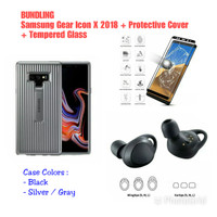 Samsung Galaxy Note 9 Protective Cover + Samsung Gear Icon X 2018