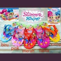 Sandal anak shimmer and shine pita samping