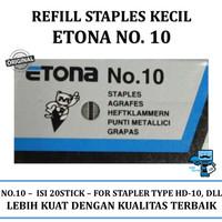Refill Staples Etona No 10 Kecil (1Box/pak)