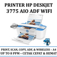 Printer HP 3775 DeskJet Ink Advantage All in One ADF WiFi SmallPrinter