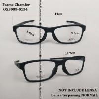 Kacamata Baca Oa*kley Chamfer 140 Bukan Voltage Frame Minus Plus Hitam