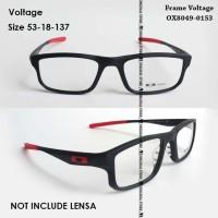 Kacamata Baca Oa*kley Voltage 137 Bukan Chamfer Frame Minus Plus Merah