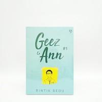 Novel Geez Dan Ann Jilid 1 - Rintik Sedu