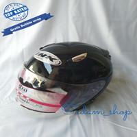 Helm ink replika centro motif italia double visor model sekarang