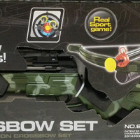 Crossbow set Mainan pistol panah