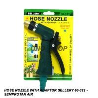 Hose Nozzle With Adaptor Sellery 60-321 - Semprotan Air