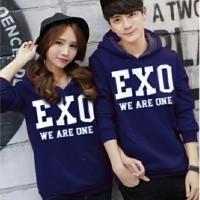 Jaket Couple Exo - Couple Jacket Jaket Bahan Babyterry Dapat 2