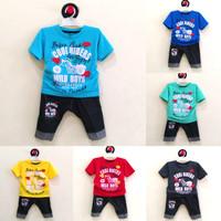 Pakaian Bayi Laki-Laki Baju & Sepatu Setelan Anak / Cowok Cool AHA0253