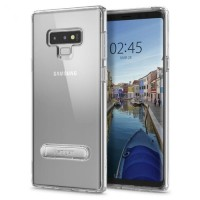 Spigen Ultra Hybrid S Kick Stand Samsung Galaxy Note 9 Crystal Clear