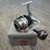 special Reel Pancing Ryobi AP POWER II 8000 6 bb distributor perlengk