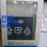 Batre Baterai HP Sony ZR BA950 ORI Battery Battre Batterai Bat Diskon