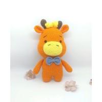 Amigurumi handmade handcraft crochet boneka rajut lip the girrafe RNat