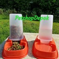 Harga dispenser makanan dan minuman 1litter tempat makan minum dual fungsi | WIKIPRICE INDONESIA