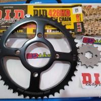gear 1SET 428 DID CBR CB150 CBR150 NEW K45 FACELIFT CBU 150 VERZA NMP