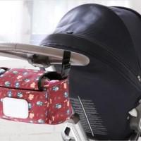 Stroller Bag Dengan Tempat Tissue Tas Perlengkapan Kereta Dorong Bayi