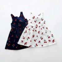Perlengkapan Bayi Pakaian Baju Bayi Perempuan Atasan Dress Cherry