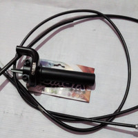 Gas spontan obasa 2 kabel