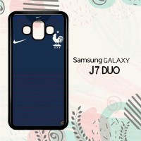 Casing Samsung Galaxy J7 Duo HP France Jersey Home LI0168