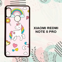 Casing Xiaomi Redmi Note 5 Pro HP Unicorn Lollipop LI0158