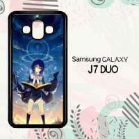 Casing Samsung Galaxy J7 Duo HP Beautiful Witch Anime LI0145