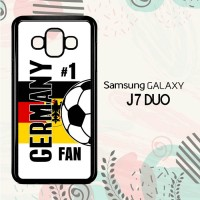 Casing Samsung Galaxy J7 Duo HP Germany 2018 Soccer Games L2578