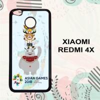 Casing Xiaomi Redmi 4x HP Asian Games 2018 Jakarta Palembang L2555