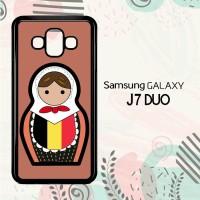 Casing Samsung Galaxy J7 Duo HP Belgium Matroska L2557