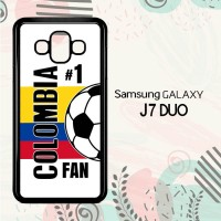 Casing Samsung Galaxy J7 Duo HP Colombia 2018 Soccer Games L2560
